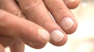 Auf die Finger geschaut