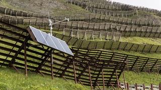 Ovra solara Sankt Antönien è giud maisa