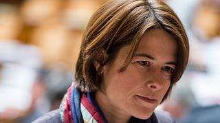 Petra Gössi bleibt allein auf weiter Flur