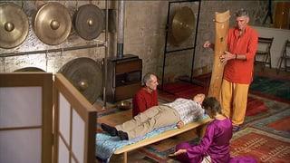 Massage mit Musik statt mit Händen