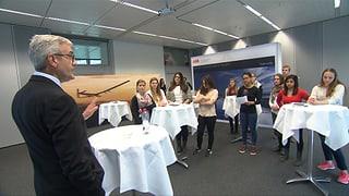 Video «ABB-Chef Ulrich Spiesshofer und die mutigen Damen» abspielen
