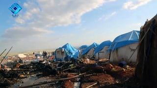 Syrien bestreitet Angriff auf Flüchtlingslager