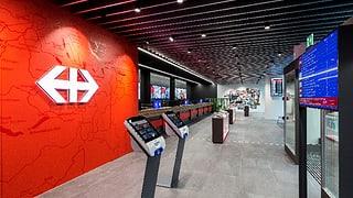 Neues SBB-Reisezentrum in Luzern eröffnet