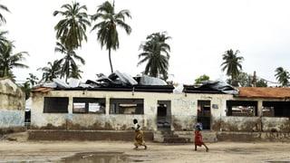 Schwere Überschwemmungen in Mosambik
