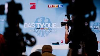 Vor dem TV-Duell in Deutschland: «Die letzte Chance für die SPD»