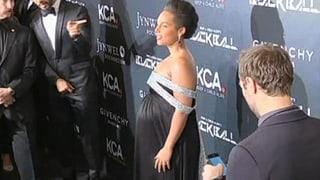 Alicia Keys: hochschwanger und immer noch am Arbeiten