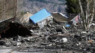 Erdrutsch in den USA fordert mehrere Tote