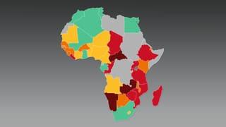 Unterernährung in Afrika