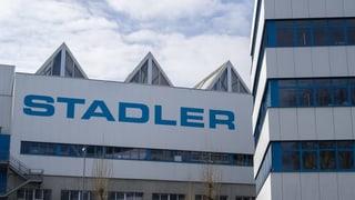 Partenza da Stadler Rail a la bursa gartegiada