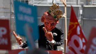 Proteste richten sich gegen Macrons Reformpolitik