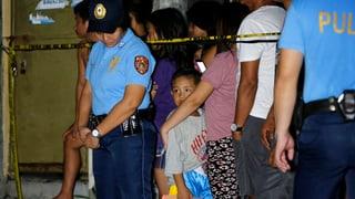 «Duterte fordert Polizisten zum Töten auf»