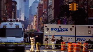 Bombenexplosionen in Manhattan und New Jersey