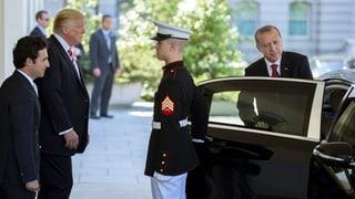 Erdogan beisst bei Trump auf Granit
