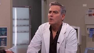 Clooney als Rapper: So hat man den Beau noch nie gesehen