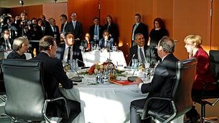 Berlin: Obama stärkt EU den Rücken