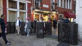 Venedig dosiert mit Drehkreuzen den Fremdenverkehr