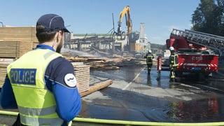 Brand in Sägerei von Nationalrat Jean-François Rime