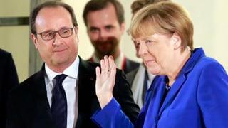 Ukraine-Krise: Merkel und Hollande sehen Fortschritte