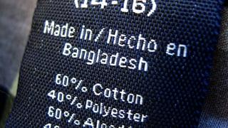 «Bangladesch fängt in unserem Kleiderschrank an»