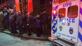 Trauer um die ermordeten Polizisten in New York
