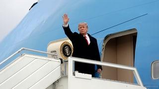 Trump hat die Schweiz verlassen – das Protokoll