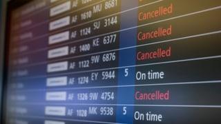 Frantscha: Chauma tar traffic aviatic e sin rodaglia