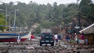 «Stärkster Taifun, der je auf Land getroffen ist»