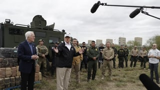 Trump hält an seiner Mauer fest