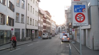 Keine Autos mehr in der Basler Innenstadt