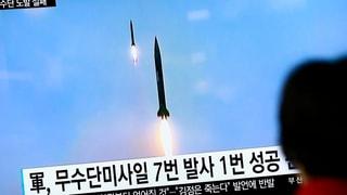 Corea dal Nord sajetta danovamain rachetas