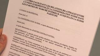 Unternehmen wollen das Rahmenabkommen