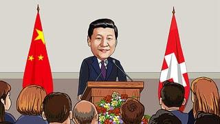 Xi Jinpings Facebook-Seite für den Westen