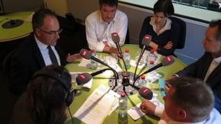 Sieger treffen auf Mitte-Links – Bundesratsfrage offen