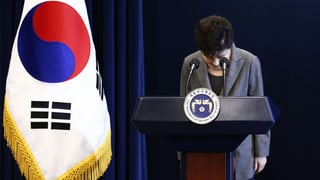 Südkoreas Präsidentin stolpert über Korruptionsskandal
