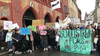 Basler Jugendliche verlangen bessere Klimapolitik