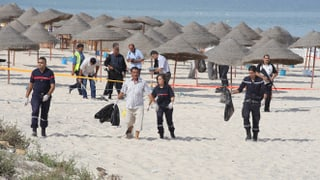Tunesien: Selbstmordanschlag an Hotelstrand