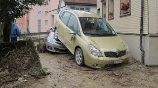 Nach Unwetter: Grosses Aufräumen in Altstätten