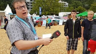Sämi bringt STIMM-ung ans Unspunnen (Artikel enthält Video)