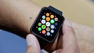 Smartwatches überholen Schweizer Uhren