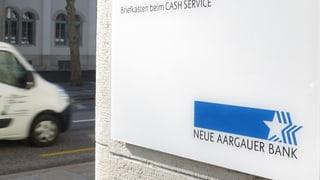 Auch die Neue Aargauer Bank macht satte Gewinne