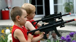 Video «Tödliches Spiel - Amerikas Waffen in Kinderhand» abspielen