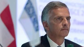Burkhalter bestätigt Kontakt zu entführtem OSZE-Helfer