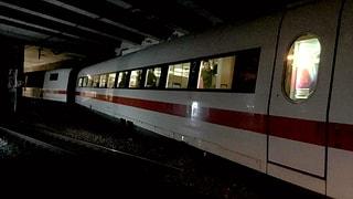 Bahnstrecke nach Deutschland bis Dienstag unterbrochen (Artikel enthält Audio)