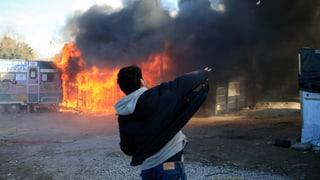 Gewaltausbruch bei Räumung von Flüchtlingslager bei Calais