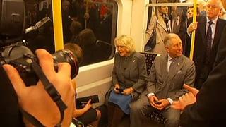 Charles und Camilla gehen in den Untergrund