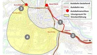Grosser Rat stoppt Westring für den Moment - dank SVP (Artikel enthält Audio)