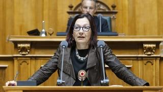 Yvonne Gilli will auf der grünen Welle ins Bundeshaus zurück