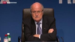 Sepp Blatter: «Ich entschuldige mich»