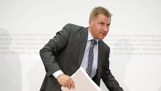 Toni Brunner behält Immunität