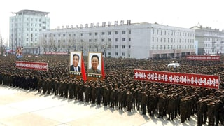 Nordkorea lässt weiter die Muskeln spielen